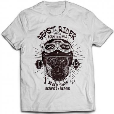 Beast Rider Mens T-shirt
