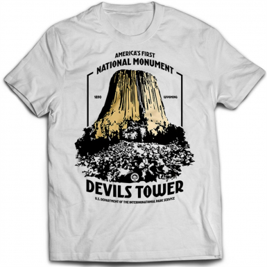 Devils Tower Mens T-shirt