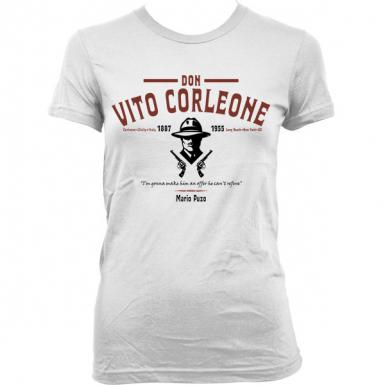 The Godfather (Don Vito Corleone) Womens T-shirt