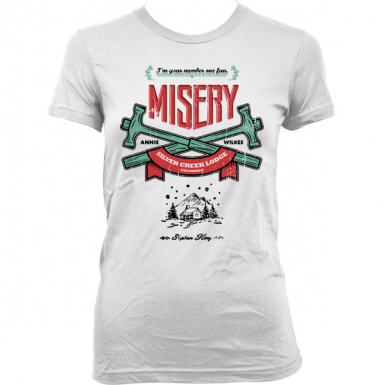 Misery Womens T-shirt