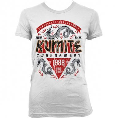 Kumite Tournament Womens T-shirt