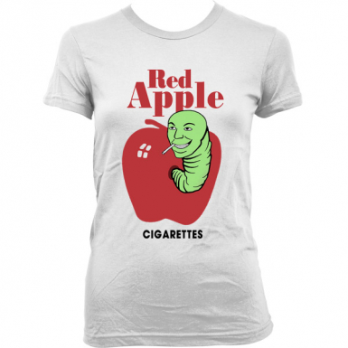 Red Apple Cigarettes Womens T-shirt