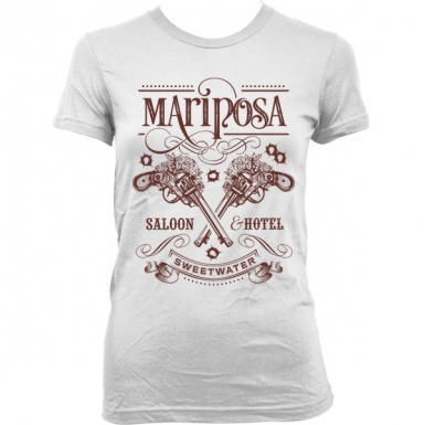 Mariposa Saloon Womens T-shirt