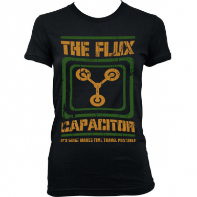 Flux Capacitor Womens T-shirt