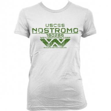 USCSS Nostromo Womens T-shirt