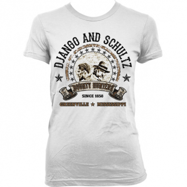 Django And Schultz Womens T-shirt