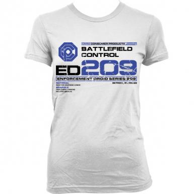 ED-209 Womens T-shirt