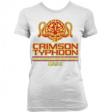 Crimson Typhoon Womens T-shirt