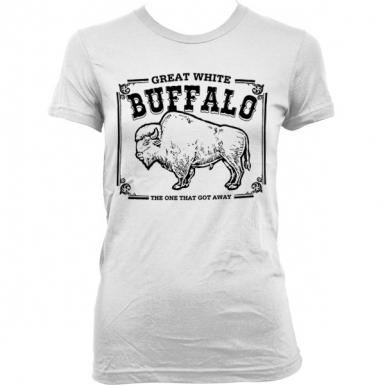 Great White Buffalo Womens T-shirt