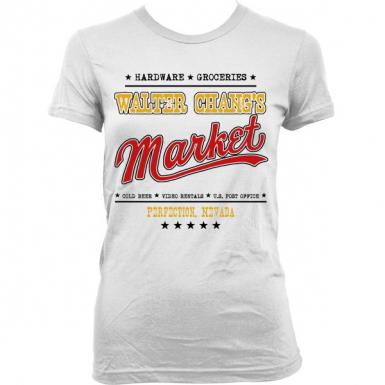 Walter Chang's Market Womens T-shirt