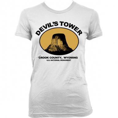 Devils Tower Womens T-shirt