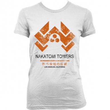 Nakatomi Towers Womens T-shirt