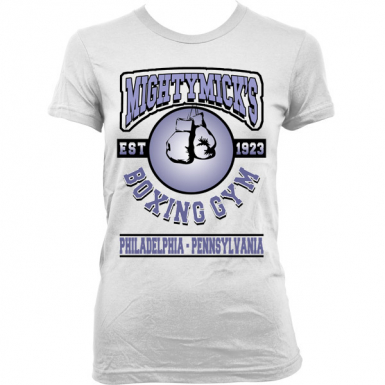 Mighty Mick's Gym Womens T-shirt