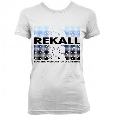 Rekall Memory Womens T-shirt