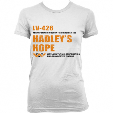LV-426 Hadley's Hope Womens T-shirt