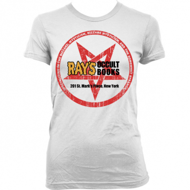 Ray's Occult Books Womens T-shirt
