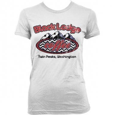 Black Lodge Coffee Womens T-shirt