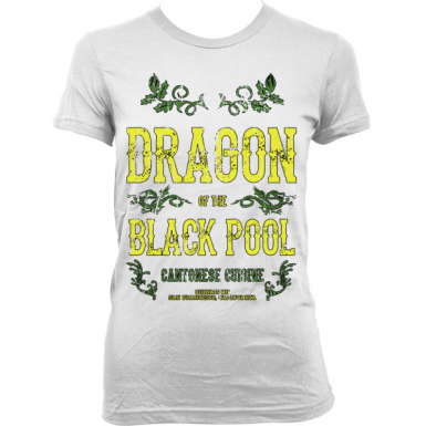 Dragon Of The Black Pool Womens T-shirt