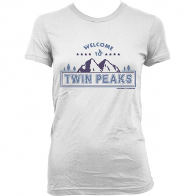 Welcome to Twin Peaks Womens T-shirt