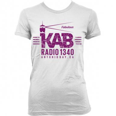KAB Radio 1340 Womens T-shirt
