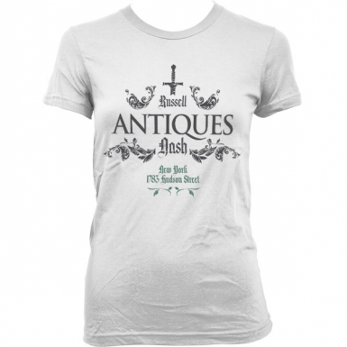 Russell Nash Antiques Womens T-shirt