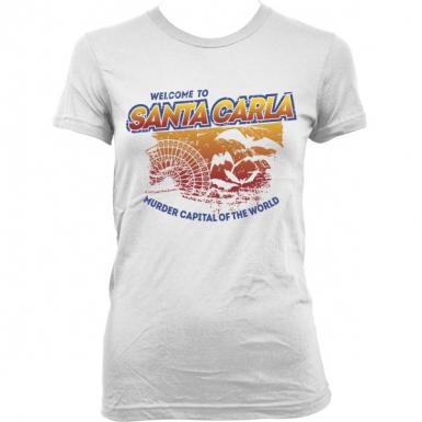 Santa Carla Womens T-shirt