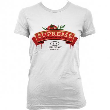 The Supreme Macaroni Company Womens T-shirt