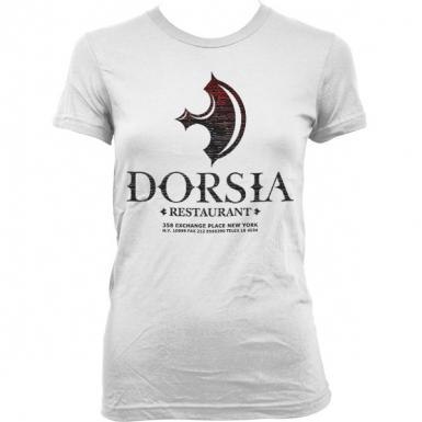 Dorsia Restaurant Womens T-shirt