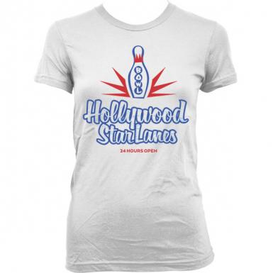 Hollywood Star Lanes Womens T-shirt