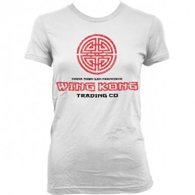 Wing Kong Exchange Womens T-shirt