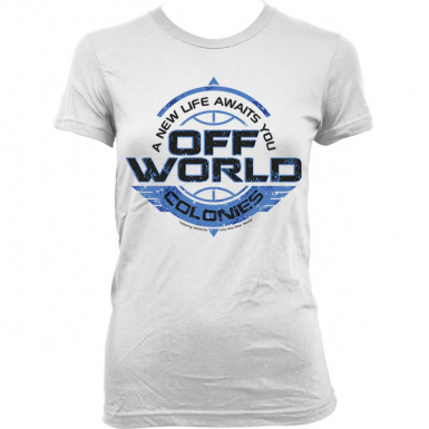 Off World Colonies Womens T-shirt