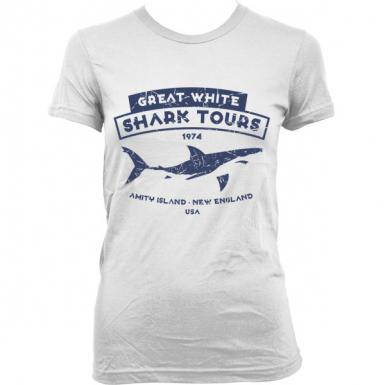 Great White Shark Tours Womens T-shirt