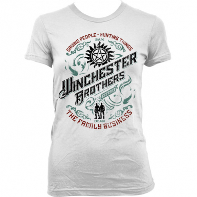 Winchester Brothers Womens T-shirt