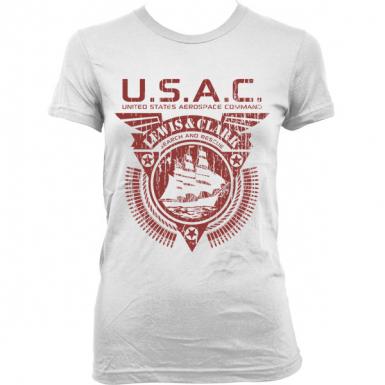 USAC Lewis & Clark Womens T-shirt