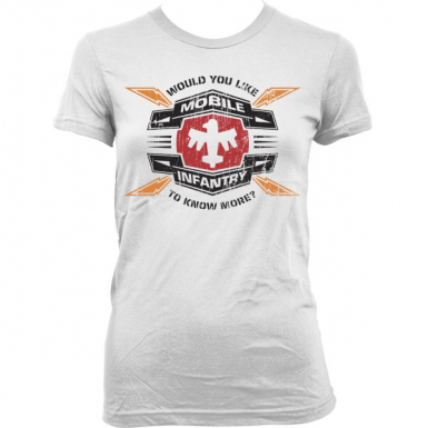 Mobile Infantry Womens T-shirt