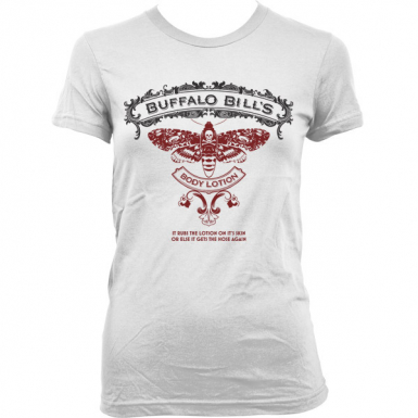 Buffalo Bill's Body Lotion Womens T-shirt