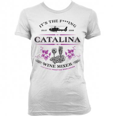 Catalina Wine Mixer Womens T-shirt