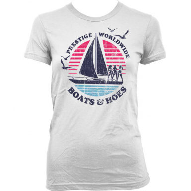 Boats N Hoes Womens T-shirt