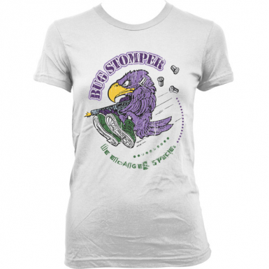 Bug Stomper Womens T-shirt