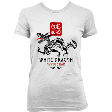 White Dragon Noodle Bar Womens T-shirt