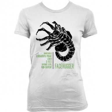 Facehugger Womens T-shirt