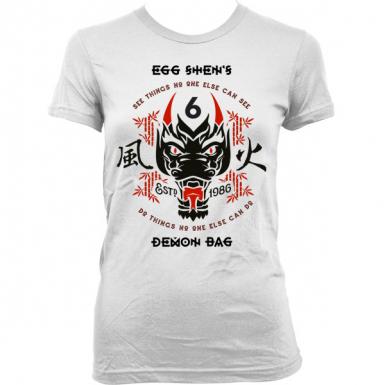Egg Shen's Six Demon Bag Womens T-shirt