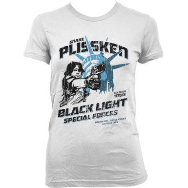 Snake Plissken Black Force Womens T-shirt