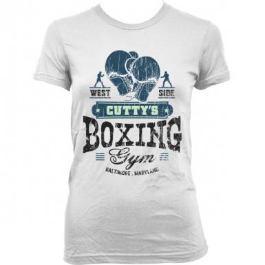 Cutty's Boxing Gym Womens T-shirt