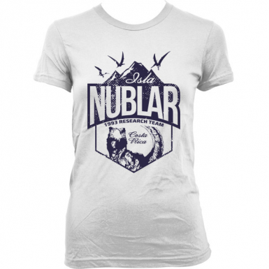 Isla Nublar Womens T-shirt