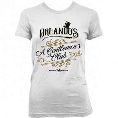 Orlando's Gentlemen's Club Womens T-shirt