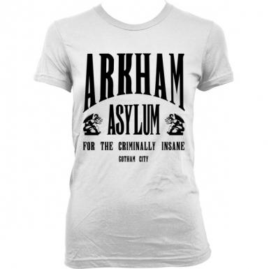 Arkham Asylum Womens T-shirt