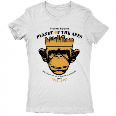 Planet of the Apes Womens T-shirt