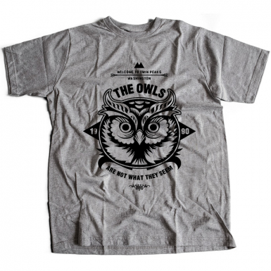 The Owls Are Not What They Seem Mens T-shirt