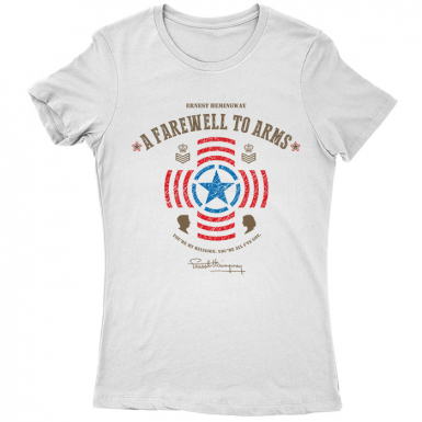 A Farewell To Arms Womens T-shirt